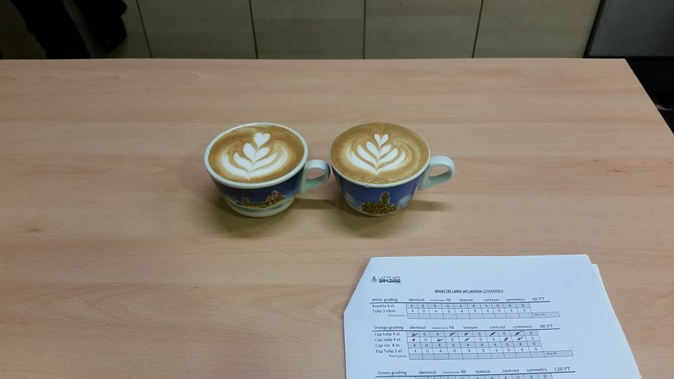 Advanced Latte Art Course - Latte Art Grading System