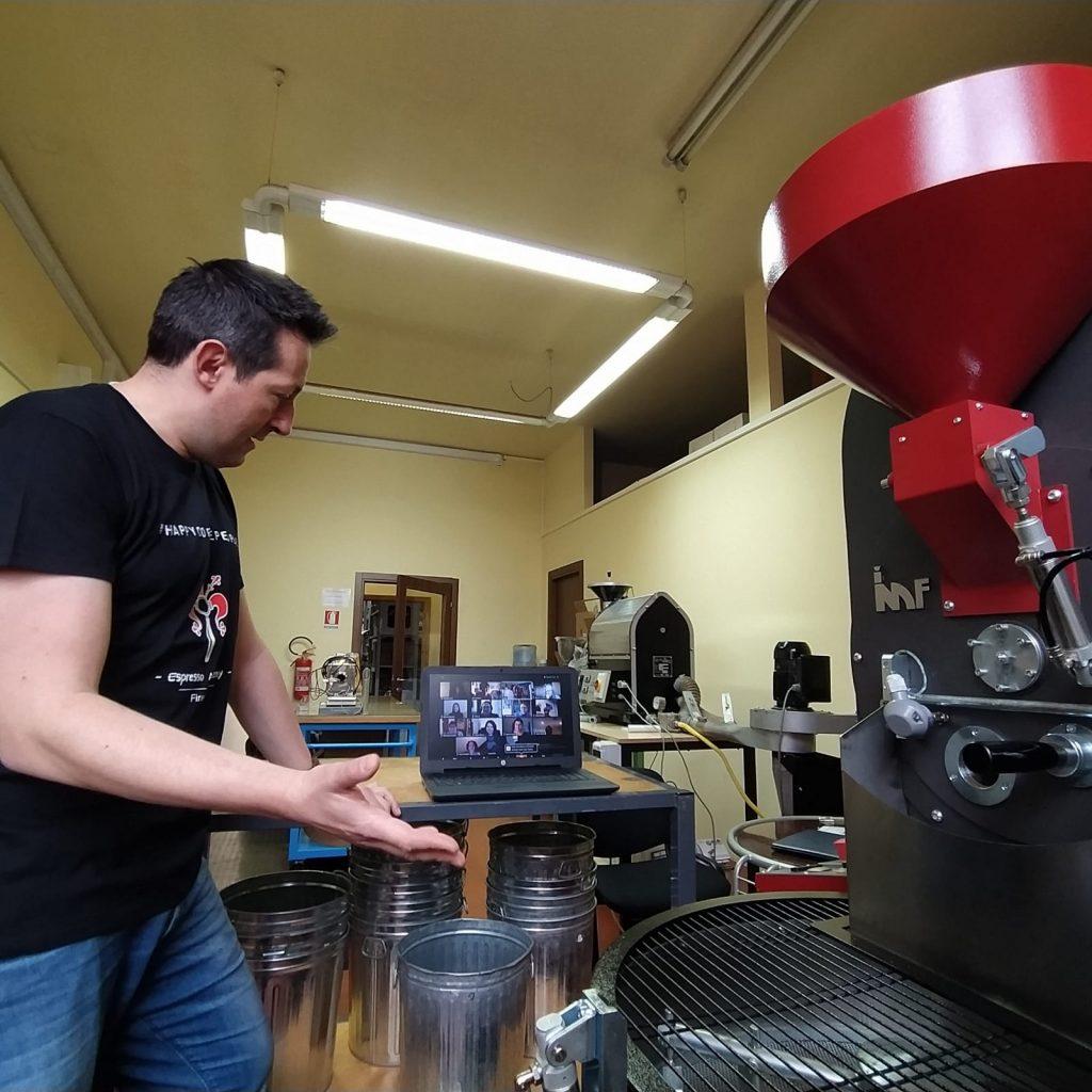 Corso di tostatura del caffè online