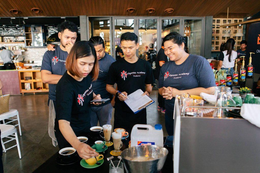 Espresso Academy Thailand - Barista Time Trial 2019